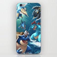 Hydro Pump iPhone & iPod Skin