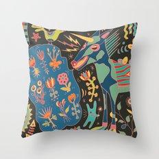 Unicorn Babble Throw Pillow