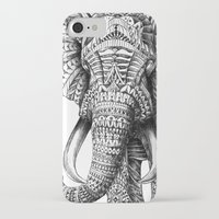 fashion iPhone & iPod Cases featuring Ornate Elephant by BIOWORKZ