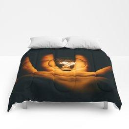 Magic Hand (Color) Comforters