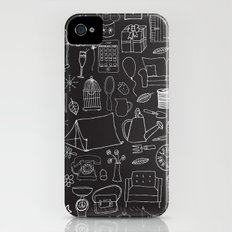 Simple things negative Slim Case iPhone (4, 4s)