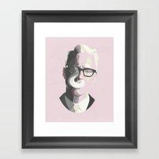 Mad Men's Roger Sterling Framed Art Print