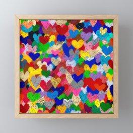 Love Always Finds A Way Framed Mini Art Print