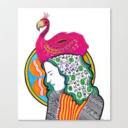 Bird Brained Canvas Print