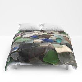 Sea Glass Assortment 1 Comforters