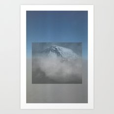 MOUNTAIN SKY #2 Art Print