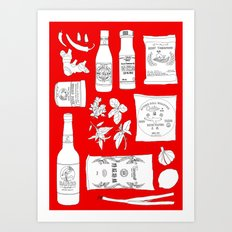 Cook Asian Art Print