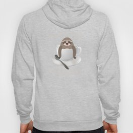Sloffee Sloth Coffee Sloth In A Cup Christmas Gift Hoody