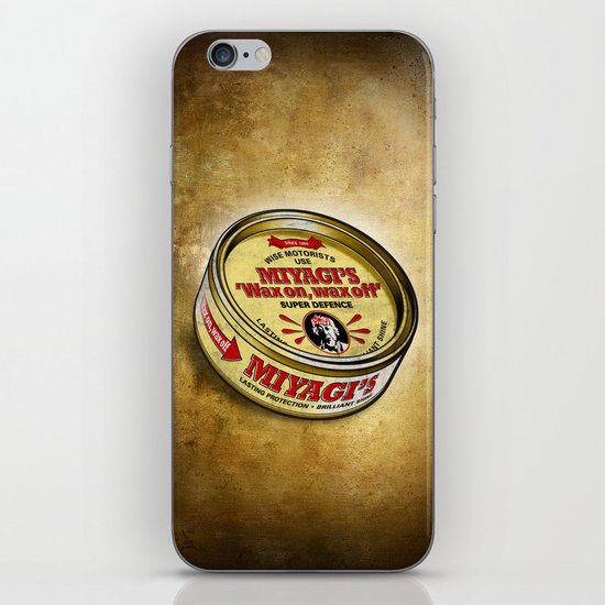 Miyagi's Super Wax iPhone & iPod Skin