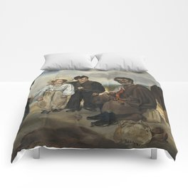 Edouard Manet The Old Musician 1862 Painting Comforters