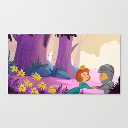 I'll be back before you know it. Canvas Print