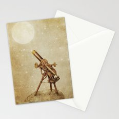 Moonrise (sepia option) Stationery Cards