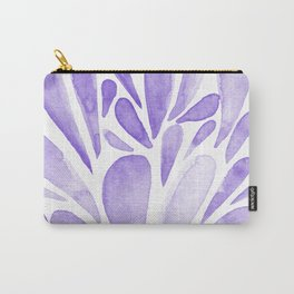 Watercolor artistic drops - lilac Carry-All Pouch