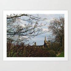 Byland Abbey Art Print