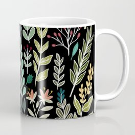 Dark Botanic Coffee Mug