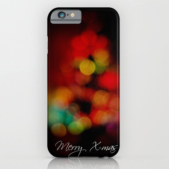 Merry X-mas iPhone & iPod Case
