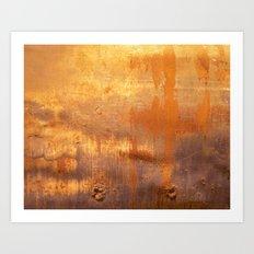 Orange 1 Art Print