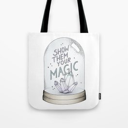 Show them your magic Tote Bag