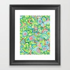 Sharpie Doodle Framed Art Print