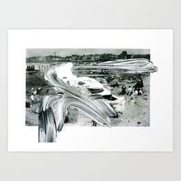 'Decline' Art Print
