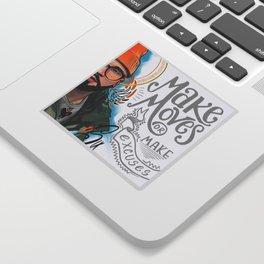 Make Moves Sticker