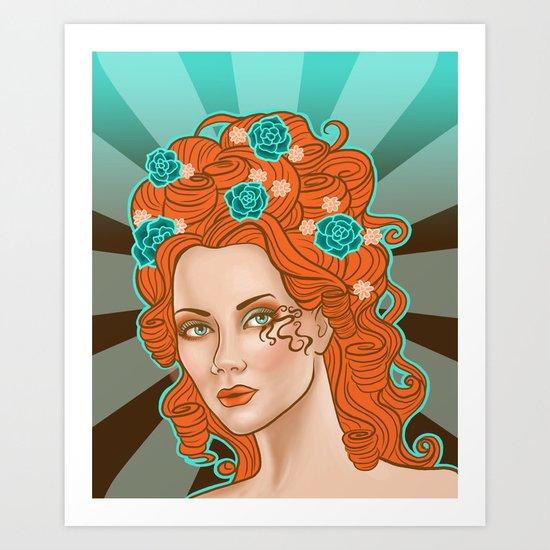 Morgana De Lisle Art Print