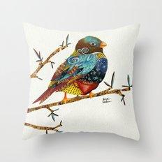 Twilight Bird Throw Pillow