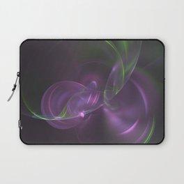 Cosmic Aurora Fractal Laptop Sleeve