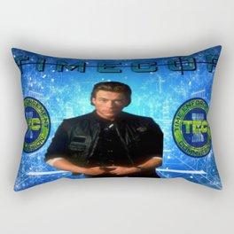Cop Of The Future Rectangular Pillow