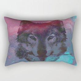 the wolf 7 Rectangular Pillow