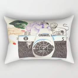 CHANELcamera Rectangular Pillow