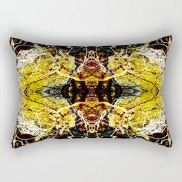 Chaos Tree Kaleidoscope 4 Rectangular Pillow