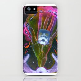Hand That Feeds iPhone Case
