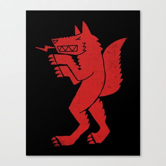 WEREWOLF, MAN WOLF Canvas Print