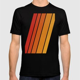 Retro 70s Stripes T-shirt