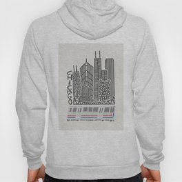 Chicago Cityscape Hoody