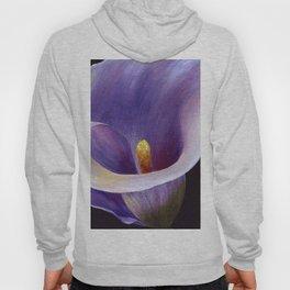 Lavender Calla Lily Hoody