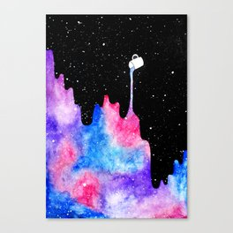 THERE'S COFFEE IN THAT NEBULA II Canvas Print