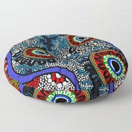 Aboriginal Art – Camping Floor Pillow