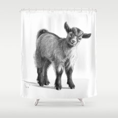 Goat baby G097 Shower Curtain