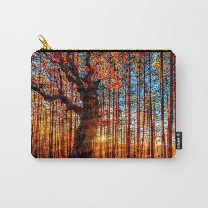 Majestic woods Carry-All Pouch