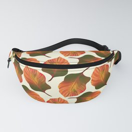 Canna Tropicanna Leaves in Orange Fanny Pack
