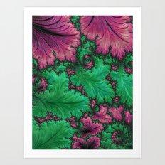 Fern Fractal Art Print