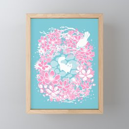 Spring Greeting Framed Mini Art Print