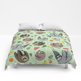 Sloth Party Comforters