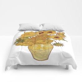 Sunflowers of Van Gogh Comforters