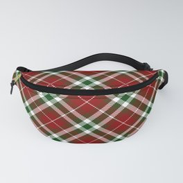 Holiday Plaid 2 Fanny Pack