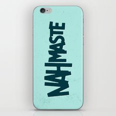 Nahmaste iPhone & iPod Skin