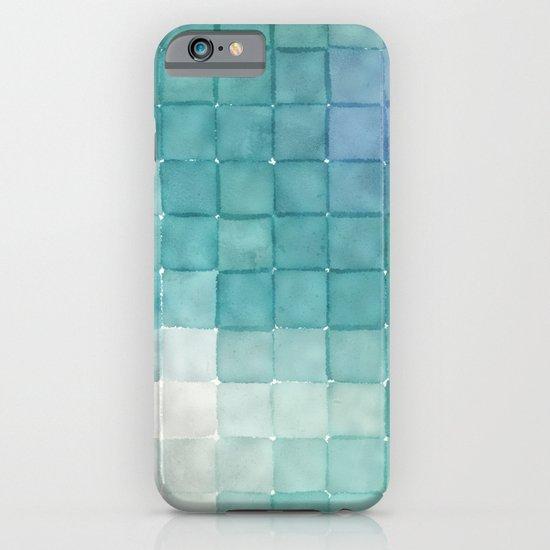 Polaroid Pixels IV (Clouds) iPhone & iPod Case