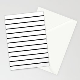 Minimalist Stripes Stationery Cards